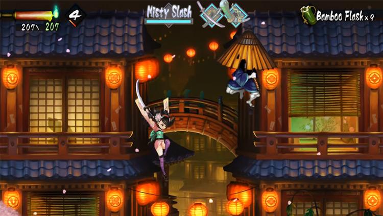 Muramasa: The Demon Blade in Nintendo Wii