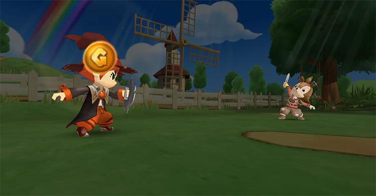 Dokapon Kingdom Wii gameplay