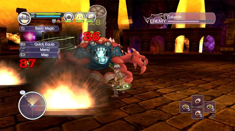 Rune Factory: Tides of Destiny gameplay screenshot