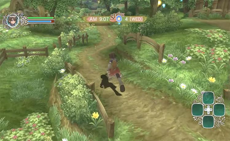 Rune Factory Frontier in Nintendo Wii
