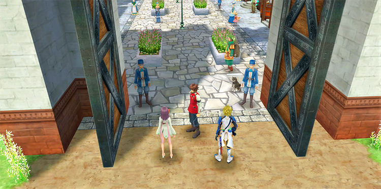 Arc Rise Fantasia game screenshot