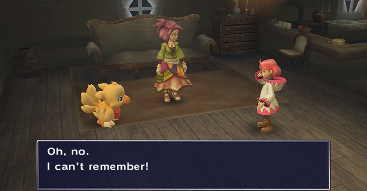 Final Fantasy Fables: Chocobo's Dungeon Wii game screenshot