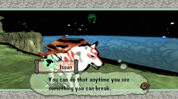 Okami Nintendo Wii gameplay