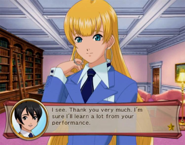 Sakura Wars: So Long, My Love in Nintendo Wii