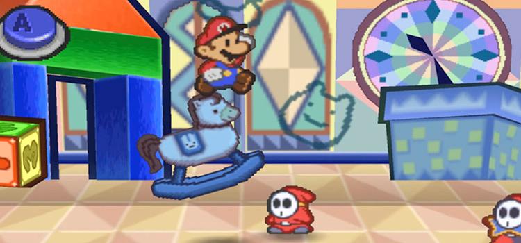 Paper Mario RPG Screenshot - N64