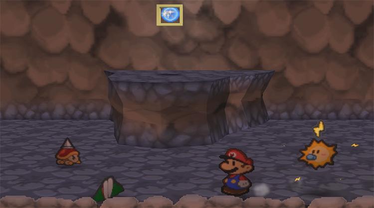 Paper Mario N64 gameplay screenshot