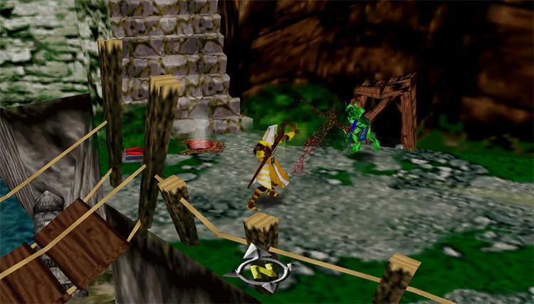 Gauntlet Legends N64 gameplay