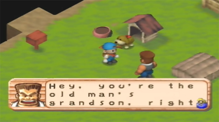 Harvest Moon 64 gameplay