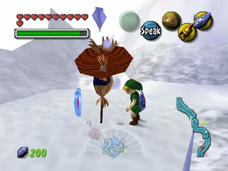 The Legend of Zelda: Majora's Mask N64 gameplay