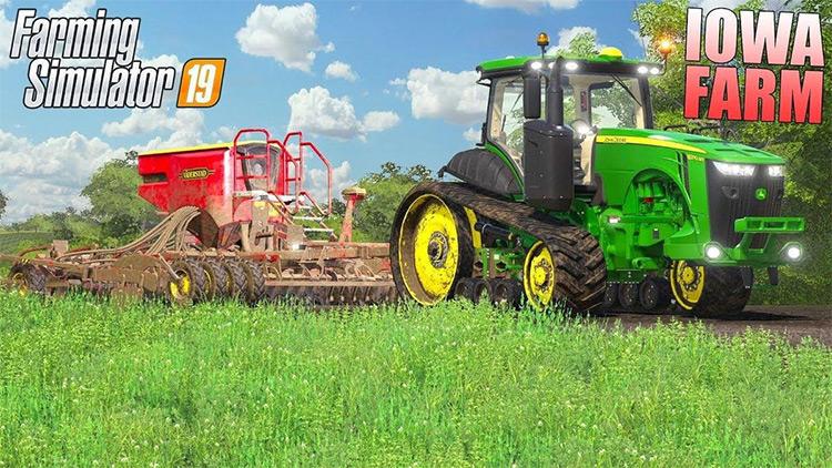 Farmersburg, Iowa FS19 mod