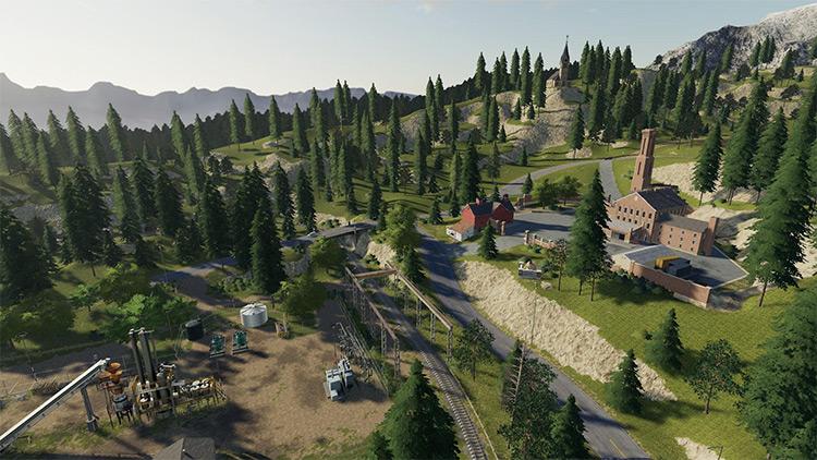Calvary Hill mod for FS19