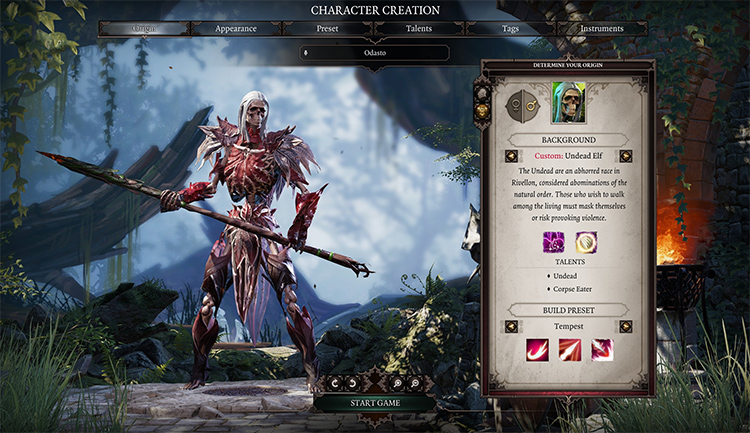 Tempest Class for DOS2 Modded
