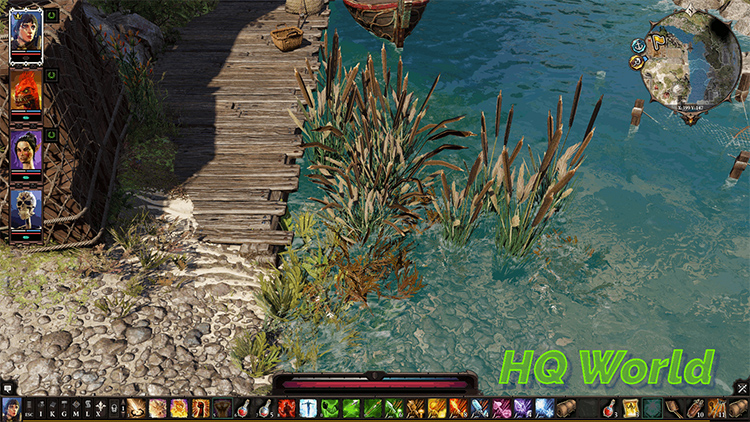 HQ World and Icons for DOS2