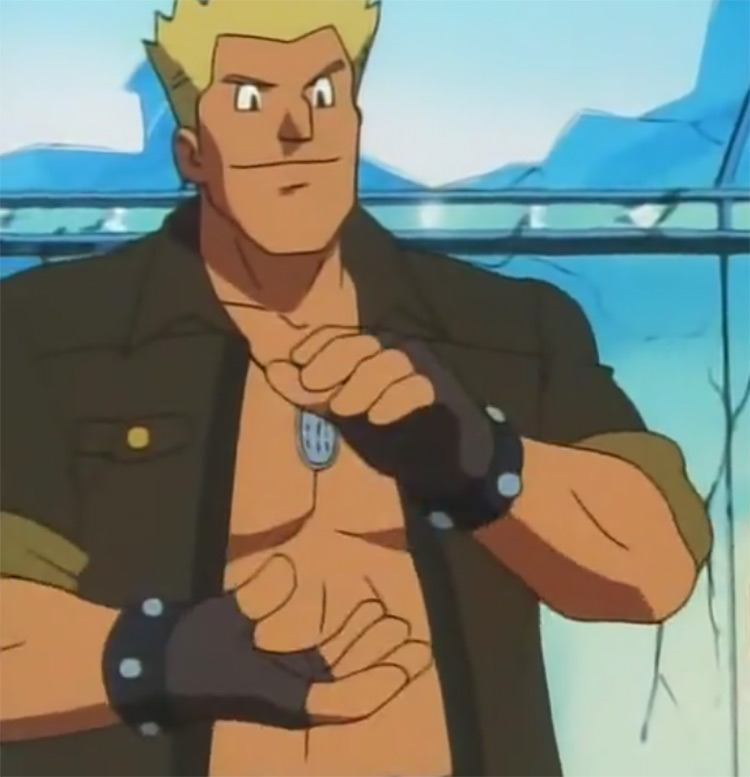 Lt. Surge Gym Leader in Pokémon