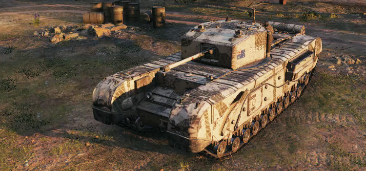 World of Tanks modded preview