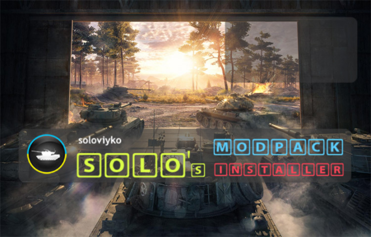 Solo's Easy ModPack for World of Tanks