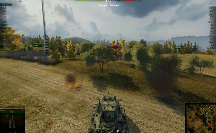 Steel Foxes World of Tanks Mod