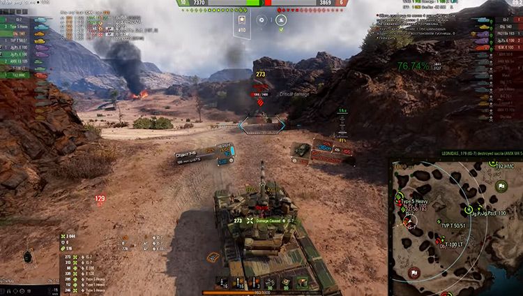 Panzercross' Historical Immersion Mod for WoT
