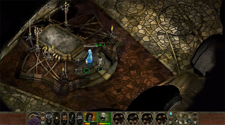 Planescape: Torment: Enhanced Edition gameplay Switch