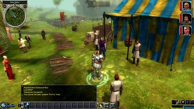 Neverwinter Nights 2 video game screenshot