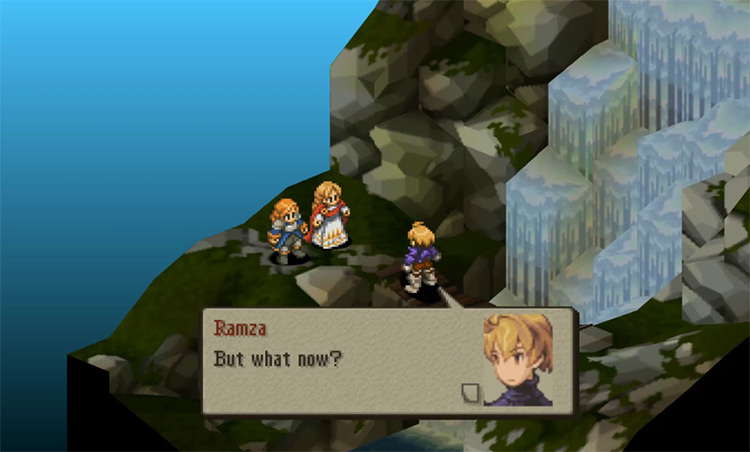 Final Fantasy Tactics: The War of the Lions gameplay PSP