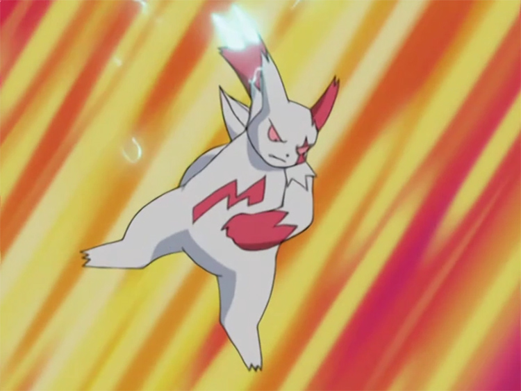 Zangoose Pokemon anime battle
