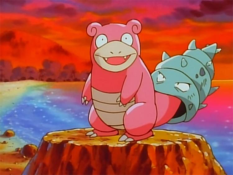 Slowbro in the Pokemon anime