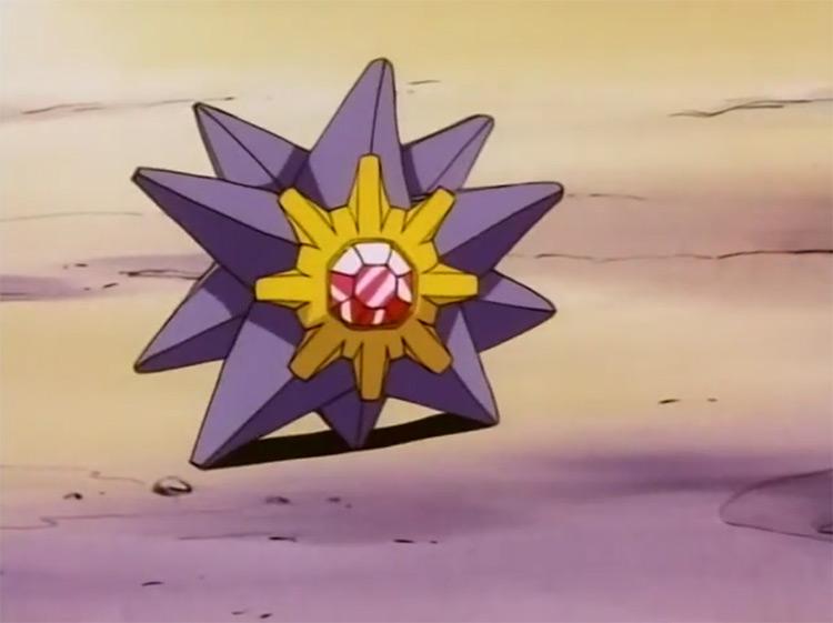 Starmie from Pokémon anime