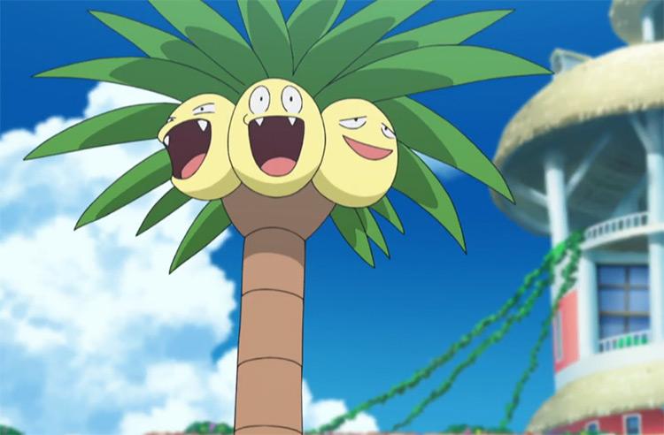 Exeggutor from Pokémon anime
