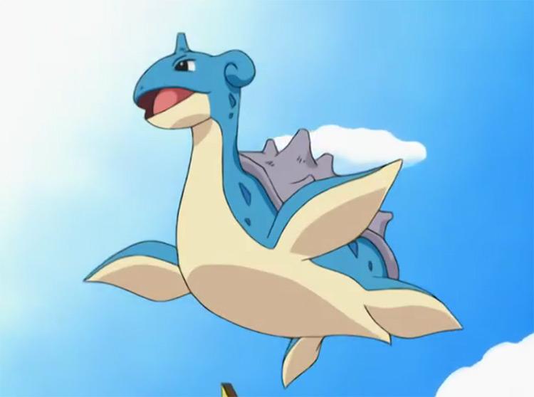 Lapras in Pokémon anime
