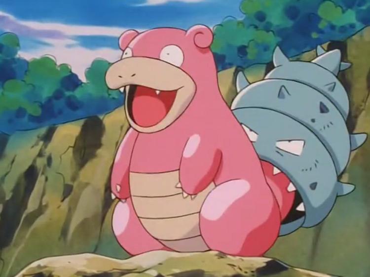 Slowbro Pokémon anime screenshot