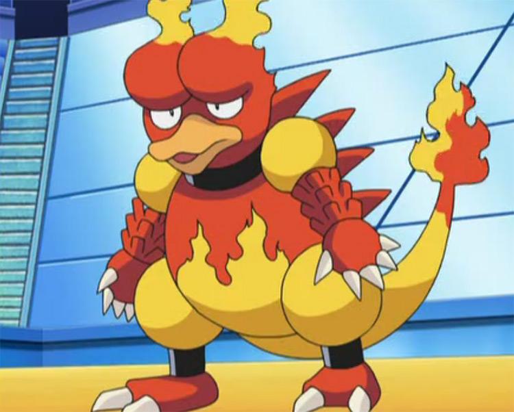 Magmar from Pokémon anime