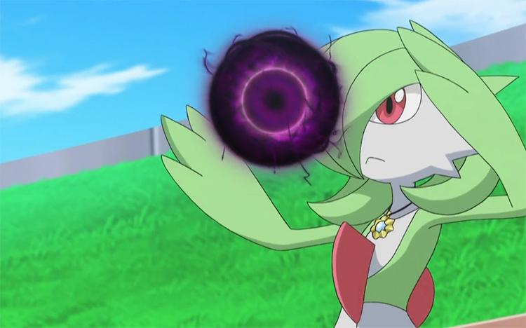 Gardevoir in the Pokemon anime