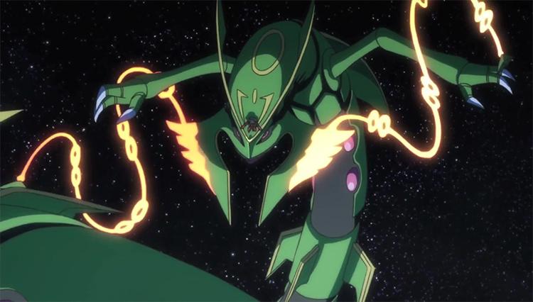 Rayquaza in Pokemon anime