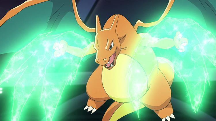 Charizard in Pokemon anime