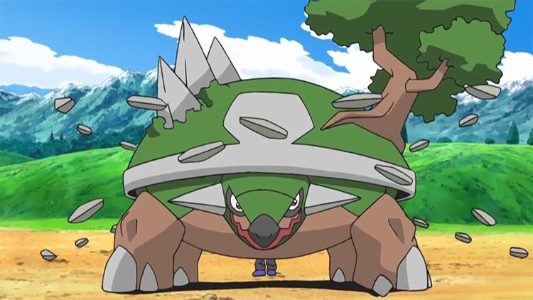 Torterra in the Pokemon anime