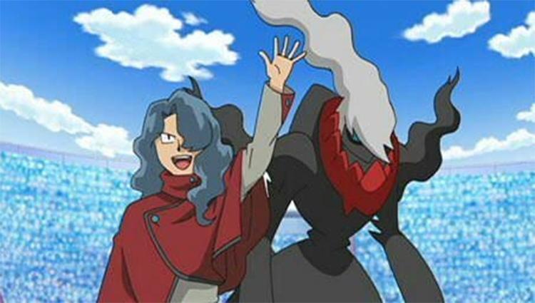 Darkrai in the Pokemon anime