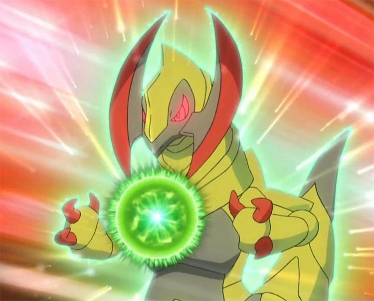 Haxorus Pokemon anime screenshot