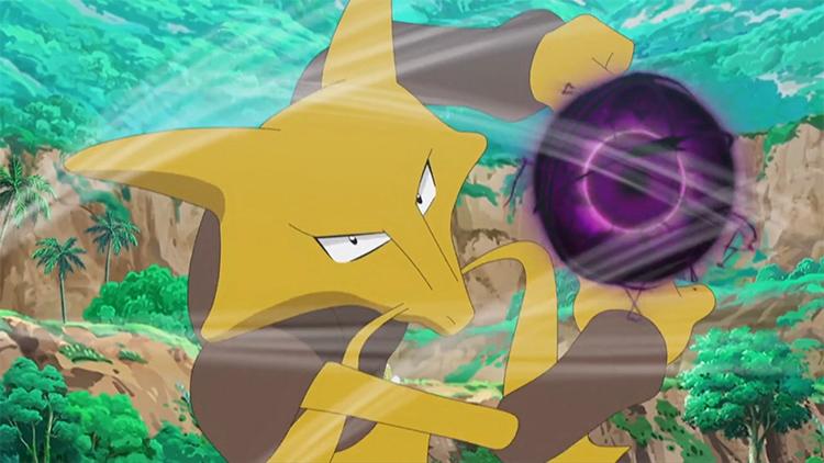 Alakazam in the Pokemon anime