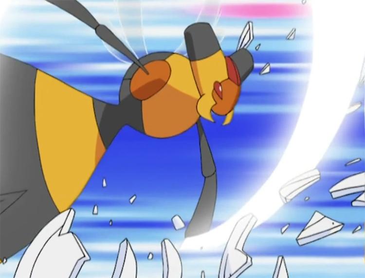 Vespiquen in Pokemon anime