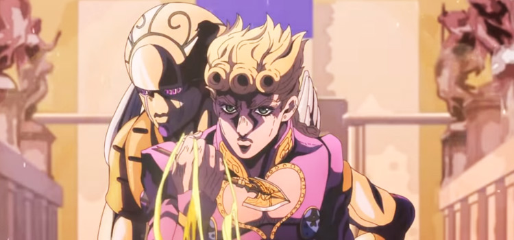 Traitors Requiem JoJo intro screenshot