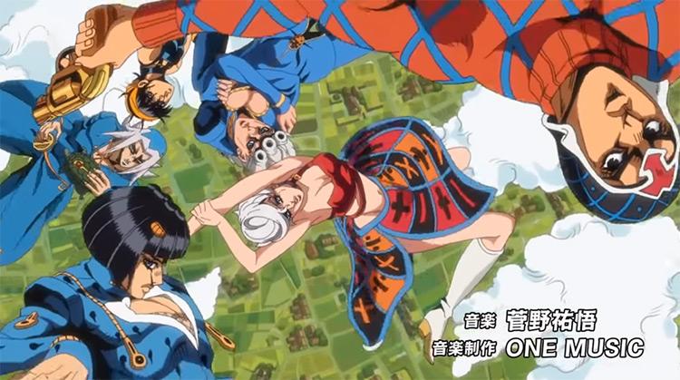 Part 5: Opening 2: Traitor's Requiem anime intro