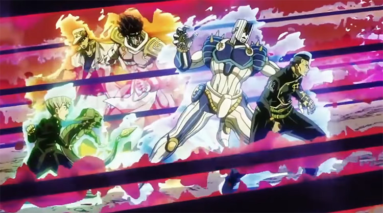 Part 4: Opening 2: Chase anime intro theme