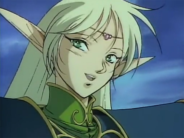 Deedlit from Record of Lodoss War anime