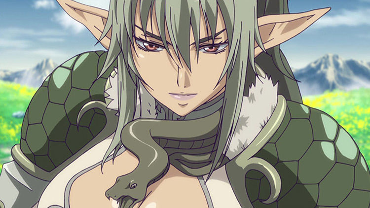 Echidna from Queen's Blade anime
