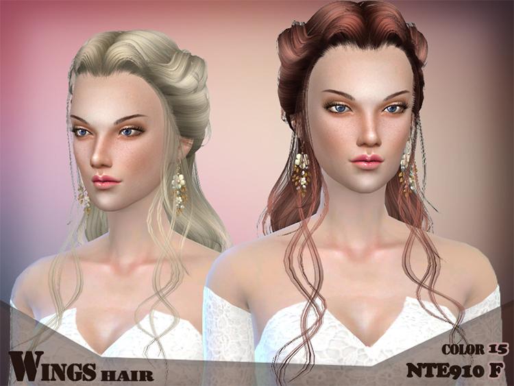 Hair NTE910 - Wedding Hair CC