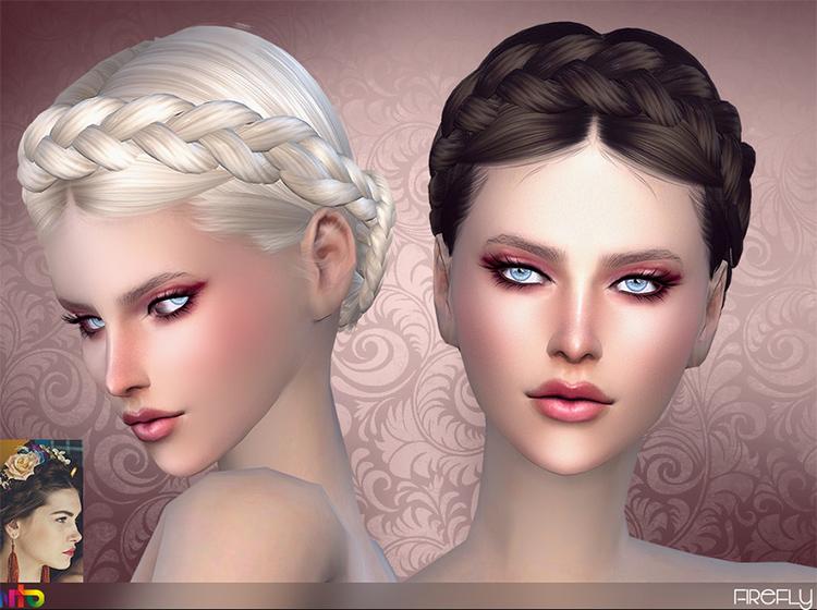 Firefly hair Sims 4 CC