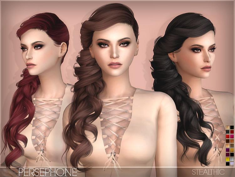 Persephone female hairdo CC
