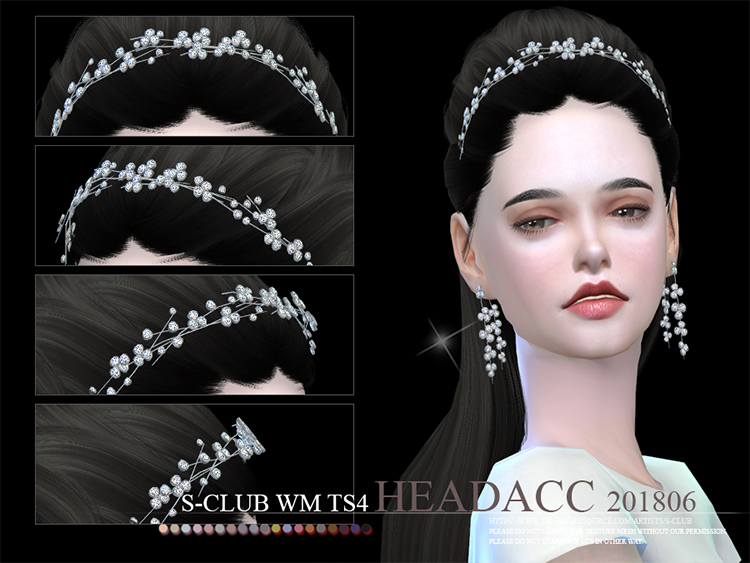 WM Headacc headband for Sims 4 CC