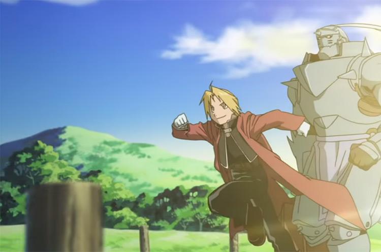 FMA Opening 02: READY STEADY GO by L'Arc en Ciel anime intro scene